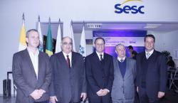 SINDVAR participa de inauguração da agência Sesc em Lavras